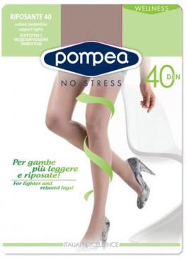 Чорапогащник със стягащ и масажиращ ефект POMPEA RIPOSANTE 40