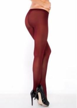 Цветен чорапогащник Penti Micro 40 цвят бордо