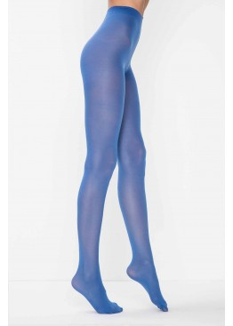 Цветен чорапогащник Penti Micro 40 син цвят