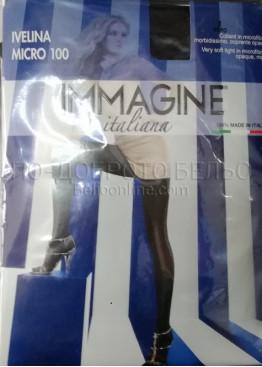 Цветен плътен чорапогащник Immagine Ivelina 100den