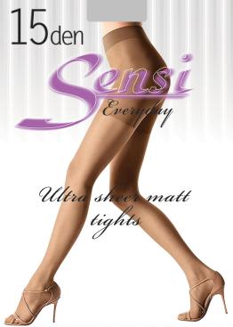 Класически чорапогащи с ликра Sensi 15den