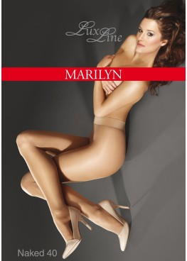 Луксозен чорапогащник без ограничител Marilyn  Naked 40