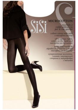 Луксозен плътен чорапогащник SiSi Microcotton