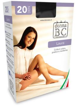 Обикновен чорапогащник без ликра Donna BC Laura 20
