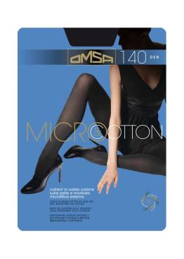 Omsa Micro&Cotton чорапогащник памук и микрофибър