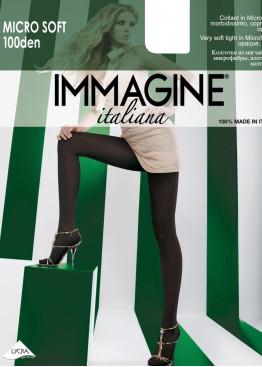 Плътен чорапогащник Immagine Micro100den