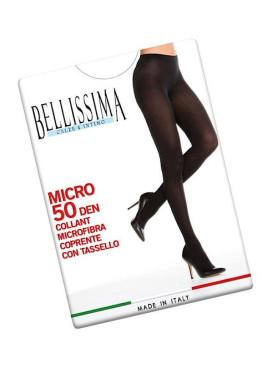 Плътен чорапогащник от микрофибър Bellissima Micro 50den