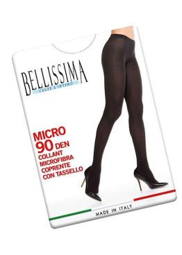 Плътен чорапогащник от микрофибър Bellissima Micro 90den