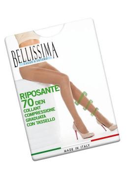 Стягащ чорапогащник с ликра Bellissima Riposante 70den