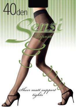 Стягащи чорапогащи с ликра Sensi Riposo 40den