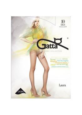 Тънък чорапогащник с ликра  Gatta Laura 10 den