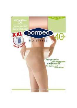 XXL чорапогащник  със  стягащ  и  масажиращ  ефект  Riposante 40