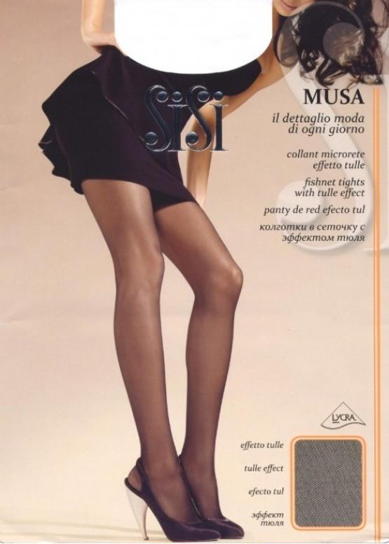 Чорапогащник микромрежа с тюлен ефект SiSi Musa