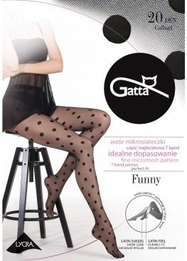 Чорапогащник на точки Gatta Funy