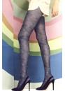 Елегантен фигурален чорапогащник с флорални мотиви Omsa Floral 15den