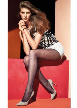 Елегантен фигурален чорапогащник със стягащ колан Omsa Apply 20den