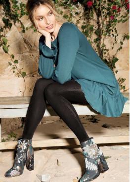 Фигурален чорапогащник Gatta Loretta 111 50den