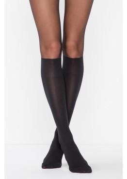 Фигурален чорапогащник имитация на 3/4 чорап 7419