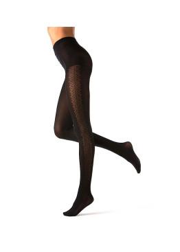 Плътен фигурален чорапогащник Bellissima Glam