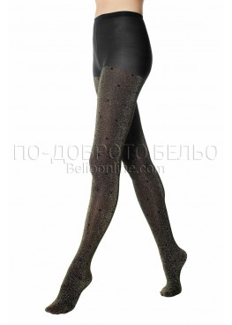 Златист чорапогащник на точки Pompea Argentina