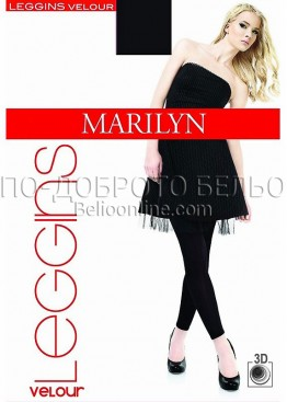 Дамски клин Marilyn Leggins Micro Velour 180 Den