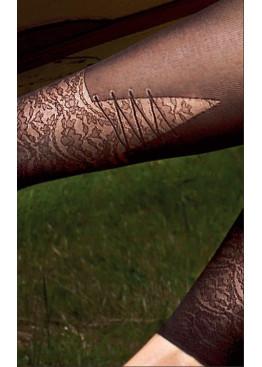 Елегантен дамски клин тип чорапогащник Omsa Artwork 30den