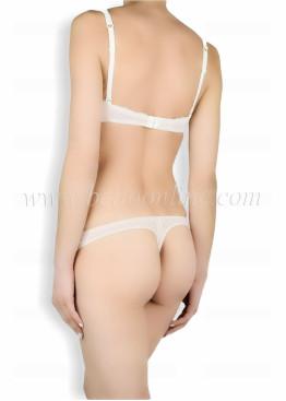 Дамско бельо комплект на точки с дантела Venera  Style 6042