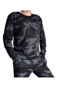 Камуфлажна мъжка пижама Spiko 5639