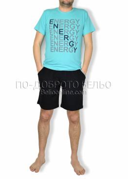 Мъжка пижама с къс ръкав Spico 6174