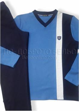 Мъжка зимна пижама Иватекс 7499
