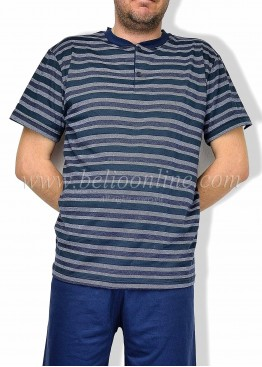 Мъжки луксозна пижама Enrico Coveri 6106