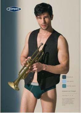 Мъжки слип POMPEA Tommy пастелно синьо