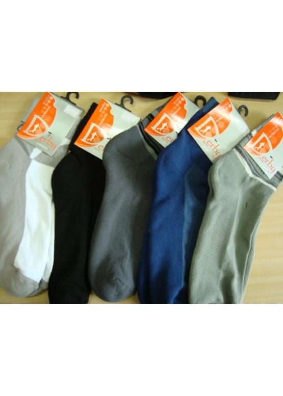 Мъжки къси памучни чорапи с термо ходило Derby