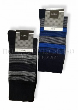 Мъжки памучни къси чорапи La Diva 7540