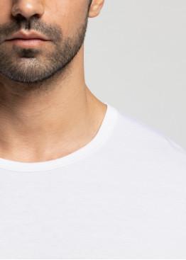 Мъжка памучна тениска с къс ръкав Pompea от 100% памук