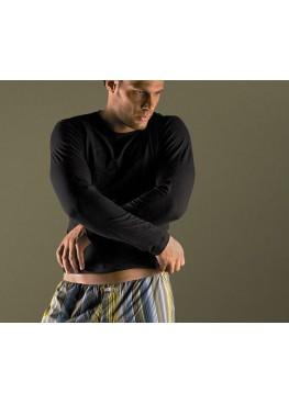 Мъжка тениска с дълъг ръкав New Silhouette 6470