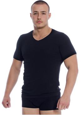 Мъжка тениска шпиц деколте In Side 046