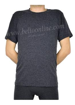 Мъжка вълнена тениска с къс ръкав Спико