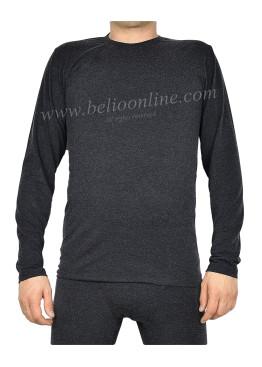 Мъжка вълнена тениска Спико с дълъг ръакав