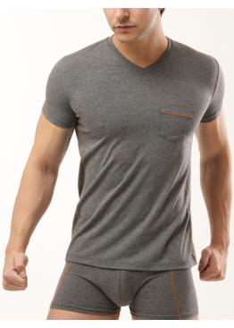 Тениска Lord с къс ръкав с V-деколте 289