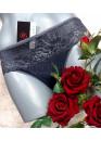 Дамски памучни  бикини Мис Марис 3075 графит