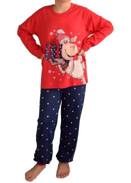 Детска коледна пижама Affect 3737