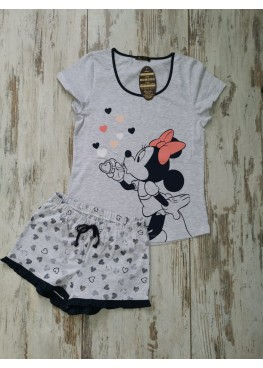 Детска лятна пижама с къс ръкав Иватекс 7740