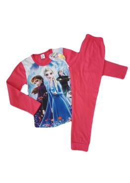 Детска пижама Иватекс с картинка Леденото кралство 191 в червено