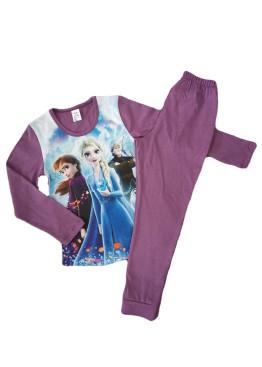 Детска пижама Иватекс с картинка Леденото кралство 191 в лилаво