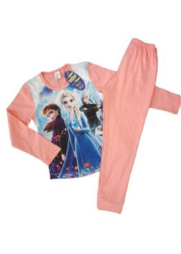 Детска пижама Иватекс с картинка Леденото кралство 191 в праскова