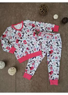 Детска зимна пижама интерлог Иватекс 185