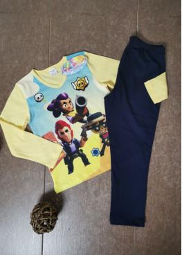 Детска зимна пижама с дълъг ръкав Иватекс 205