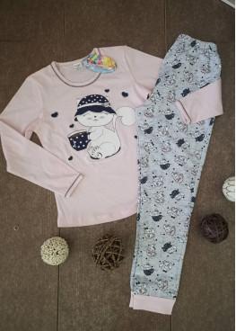 Детска зимна пижама с дълъг ръкав Иватекс 210