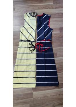 Дамска рокля с широки презрамки Иватекс 7964